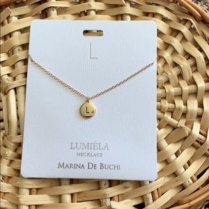 "Jewelry - ""L"" initial necklace"